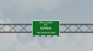 The final countdown for legal sports wagering in Iowa is officially on.