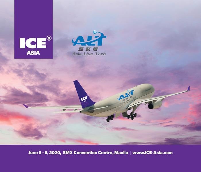Asia Live Tech Named As Ice Asia Diamond Sponsors