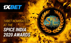 1xBet Nominated for Multiple Categories at the SPiCE India 2020 Awards