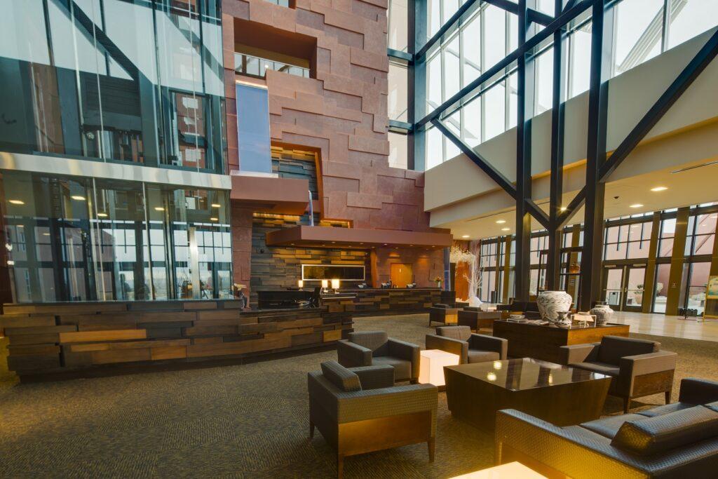 Isleta Hotel Lobby