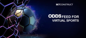 BetConstruct provides Virtual Sports odds data as separate offering
